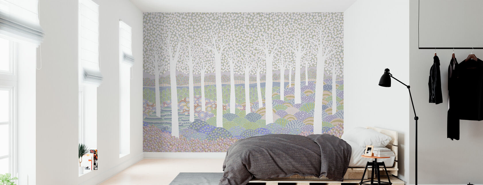 Flower Forest - Wallpaper - Bedroom