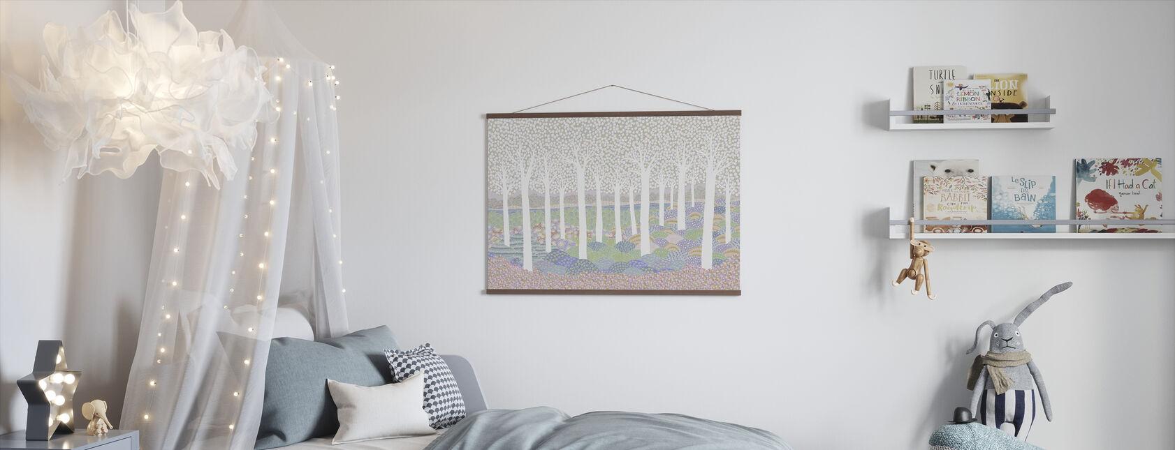 Flower Forest - Poster - Kids Room