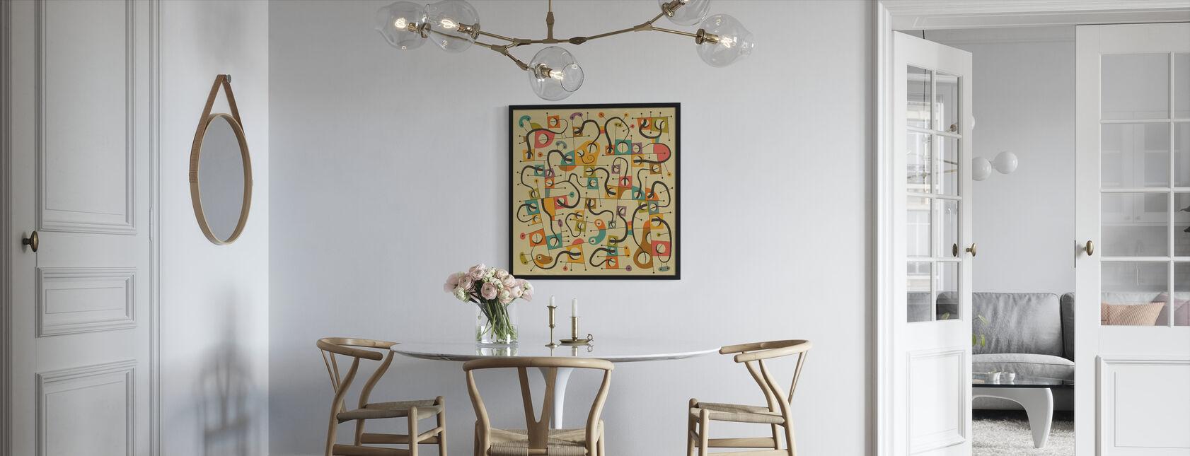 A Different World - Framed print - Kitchen