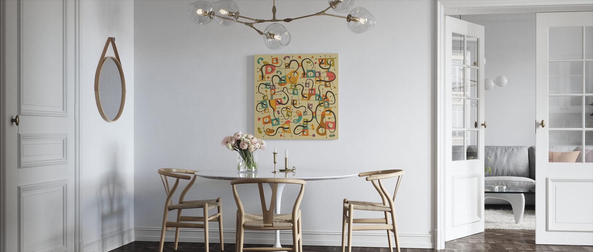 A Different World - Canvas print - Kitchen