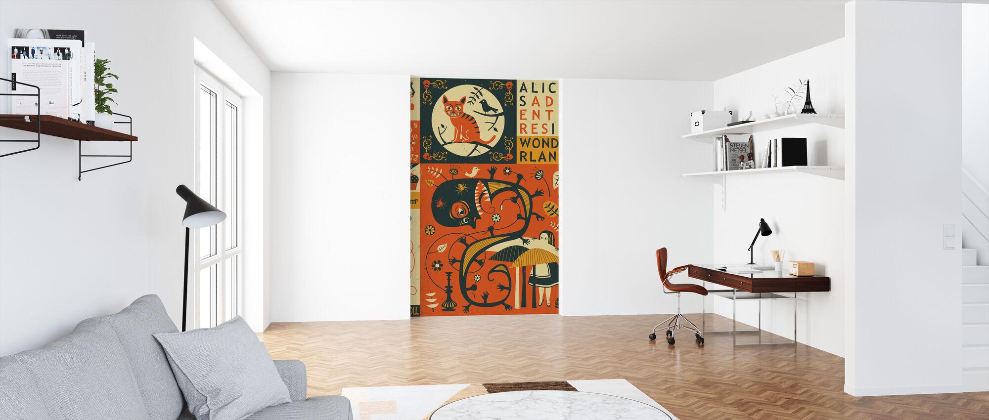 Alice in Wonderland - Wallpaper - Office
