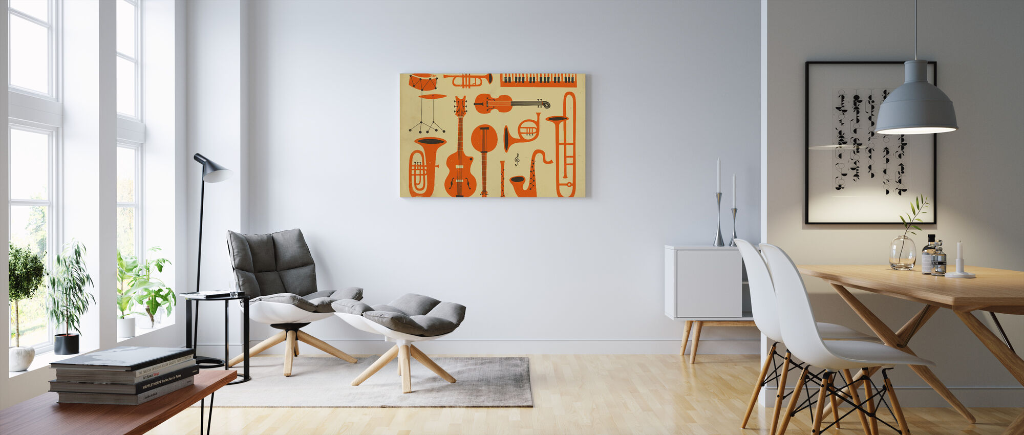 All That Jazz - Canvas print - Living Room