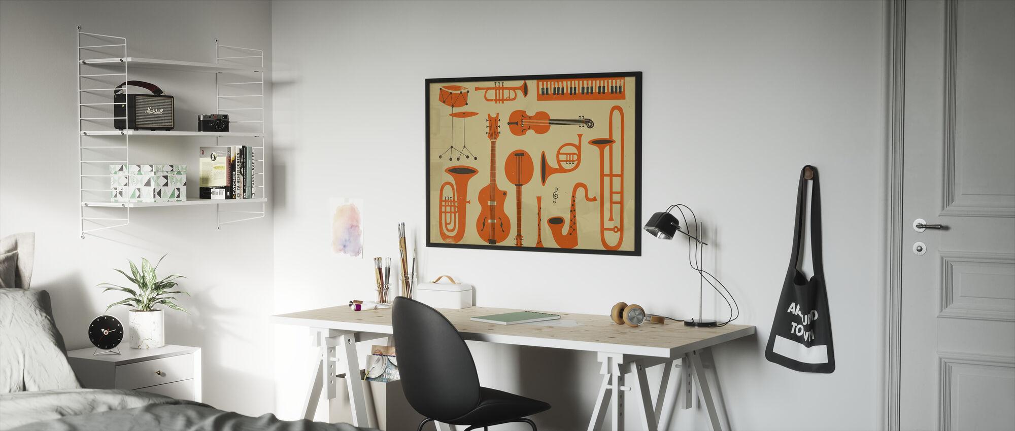 All That Jazz - Framed print - Kids Room