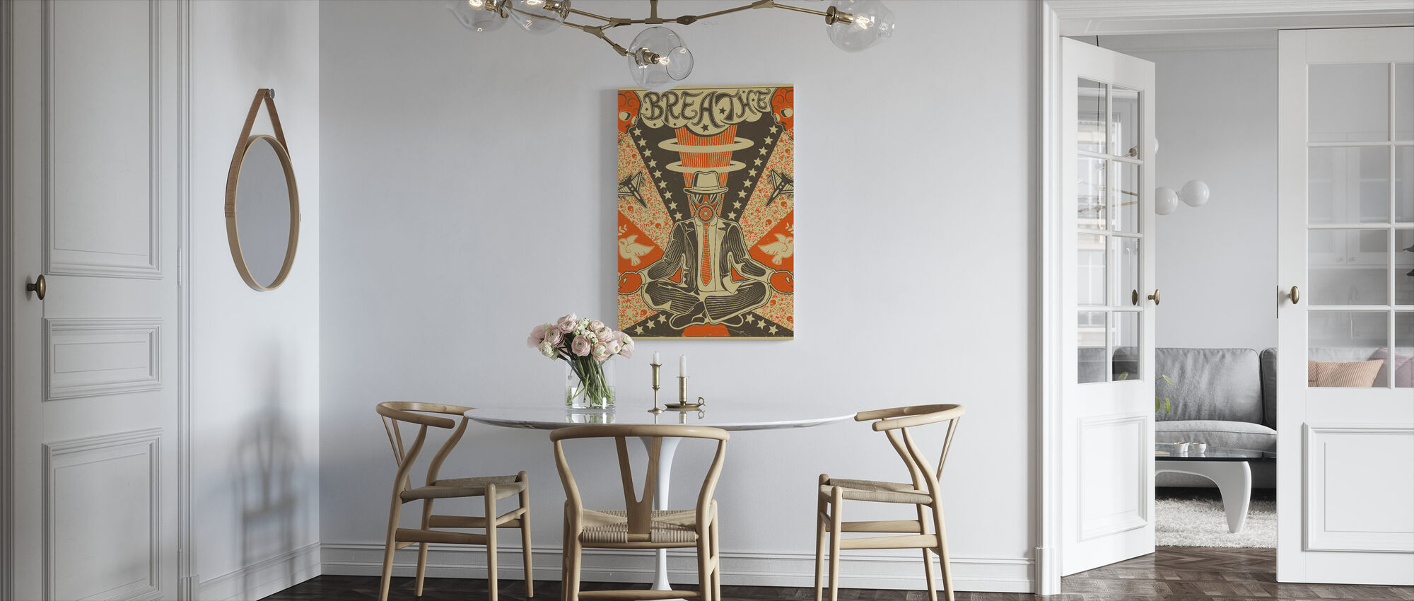 Breathe - Canvas print - Kitchen