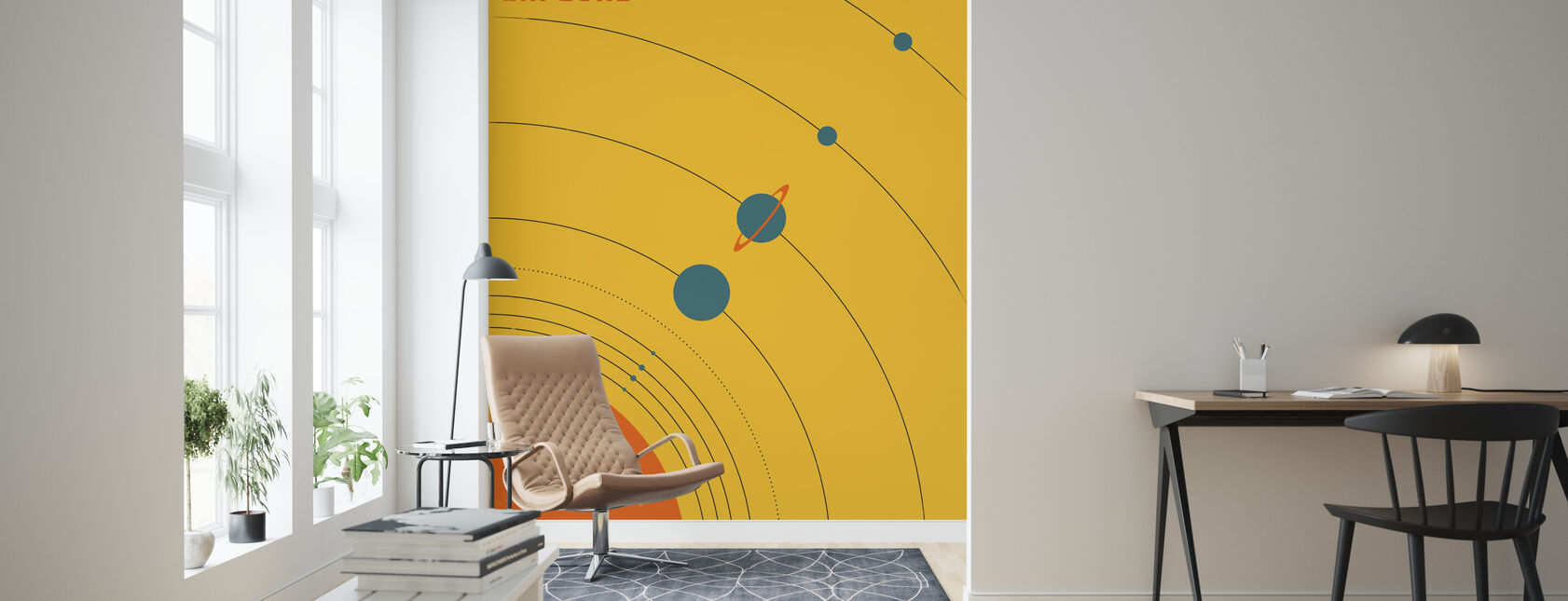 Solsystem - Udforsk - Tapet - Stue