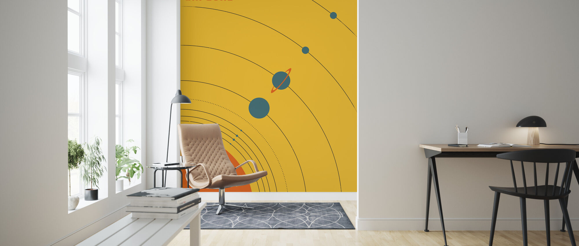 Solar System - Explore - Wallpaper - Living Room