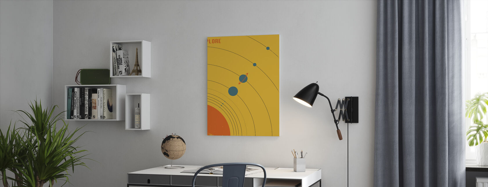 Solar System - Explore - Canvas print - Office