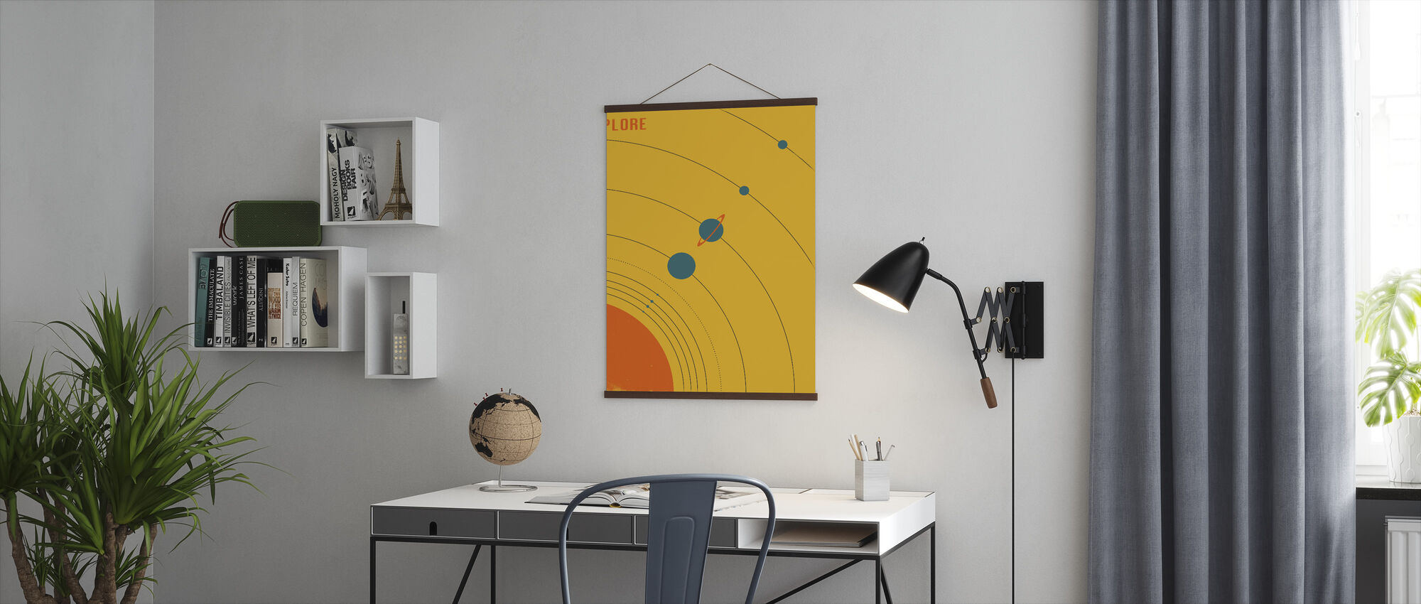 Solar System - Explore - Poster - Office