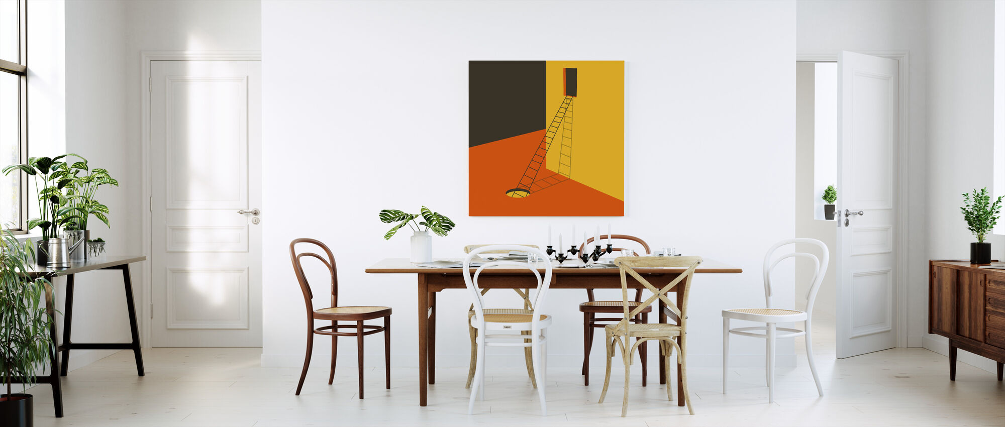 Explore - Canvas print - Kitchen