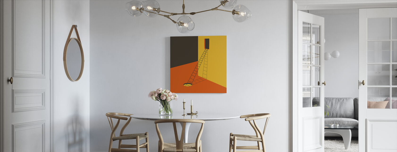 Explore - Canvas print - Kitchen