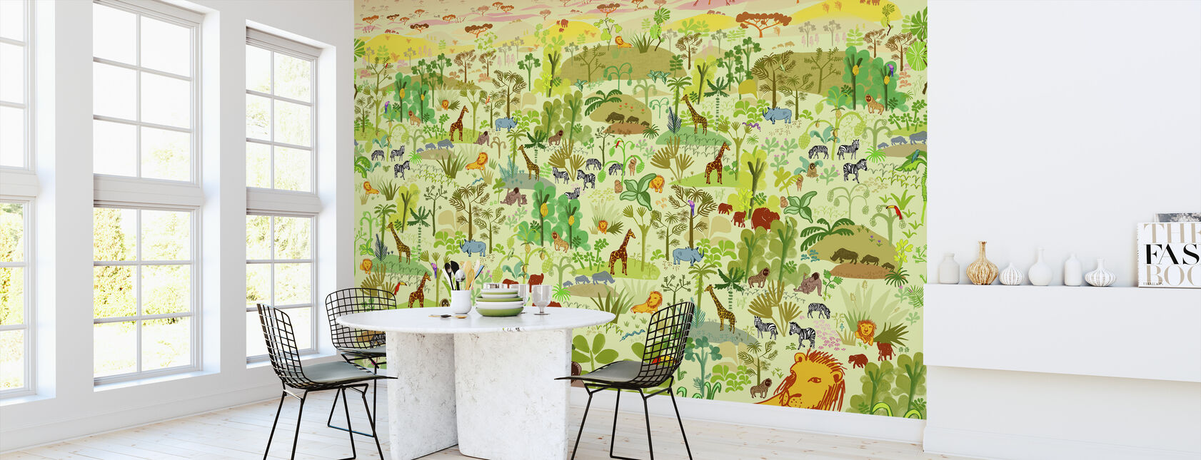 Serengeti - Wallpaper - Kitchen