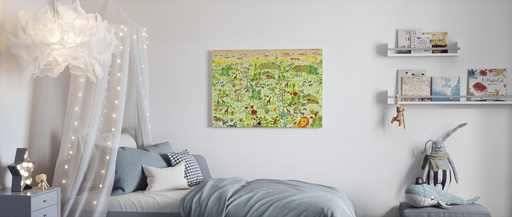 Serengeti - Canvas print - Kids Room