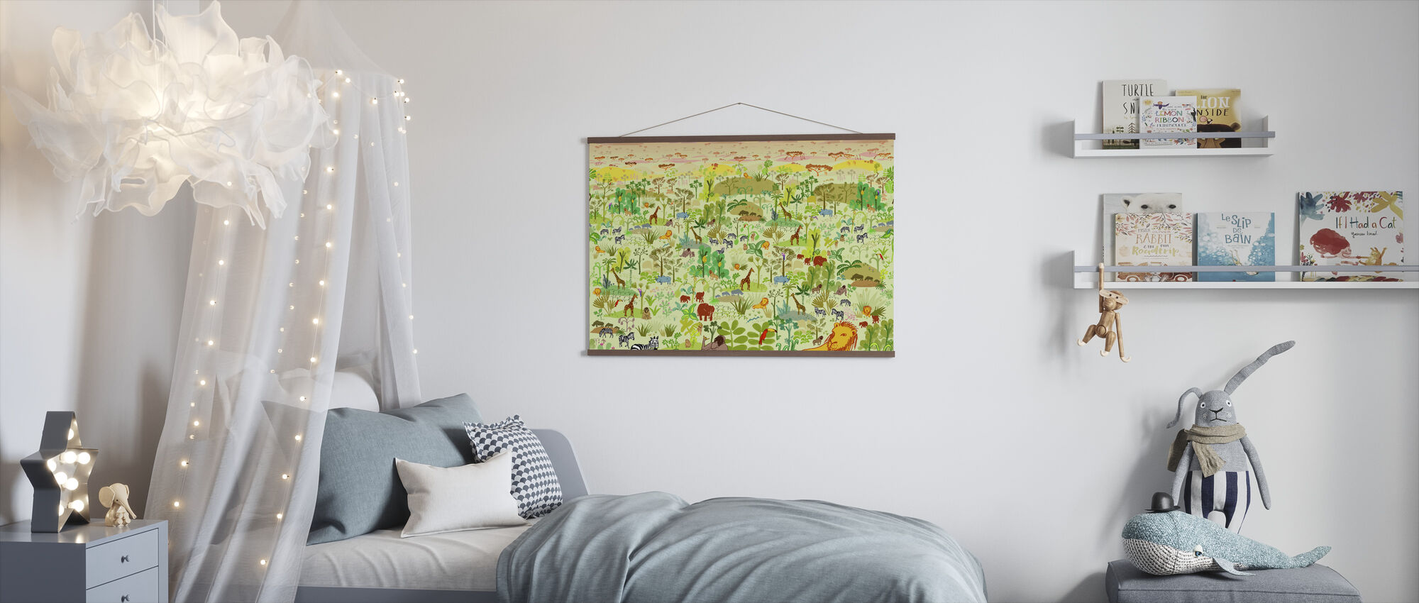 Serengeti - Poster - Kids Room