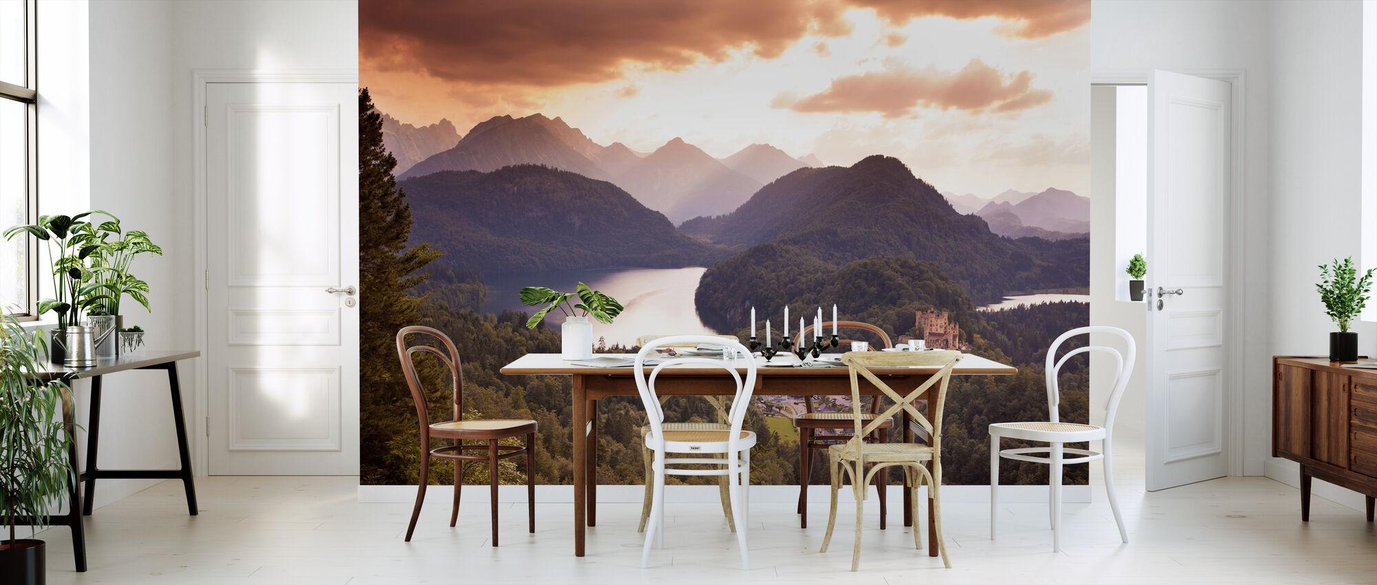View at Neuschwanstine - Wallpaper - Kitchen