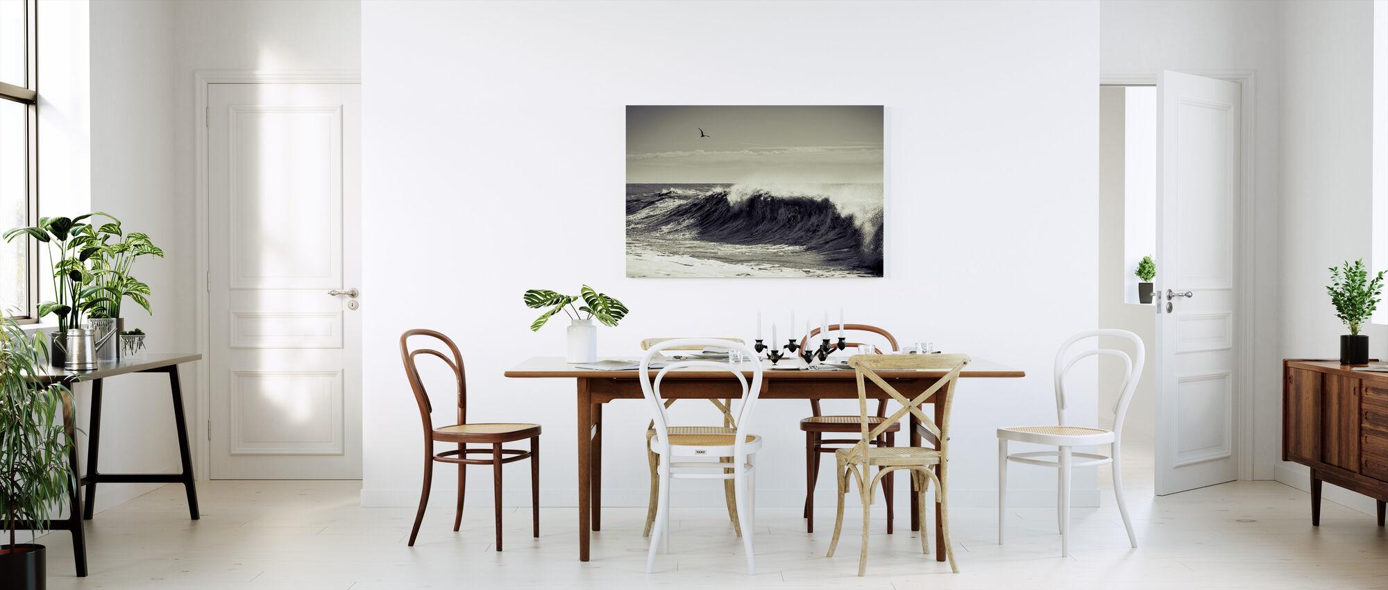 Breaking Wave - Canvas print - Kitchen
