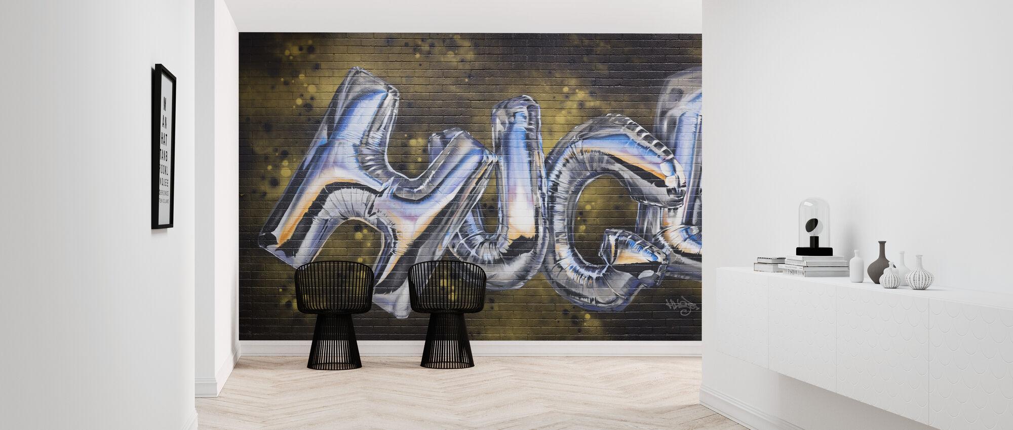 Huge - Wallpaper - Hallway