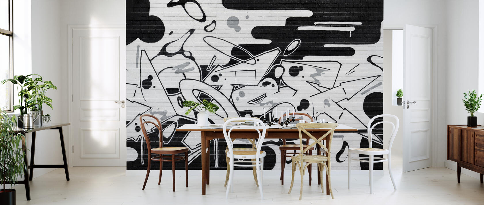 dotse trendige fototapete photowall. Black Bedroom Furniture Sets. Home Design Ideas