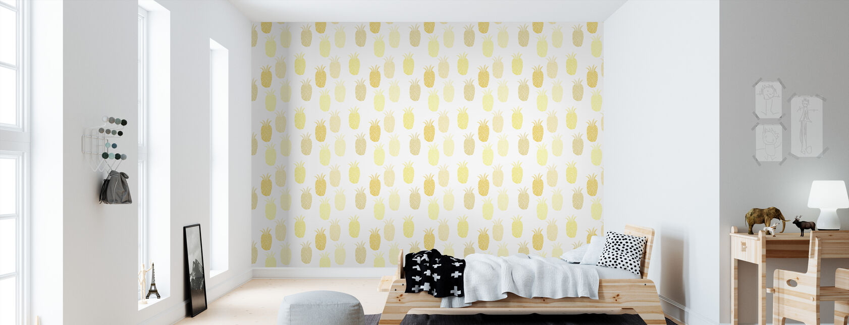 Pineapple - Wallpaper - Kids Room