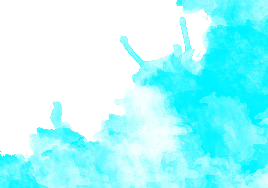 Turquoise watercolor wall mural photo wallpaper photowall - Turquoise wallpaper for walls ...
