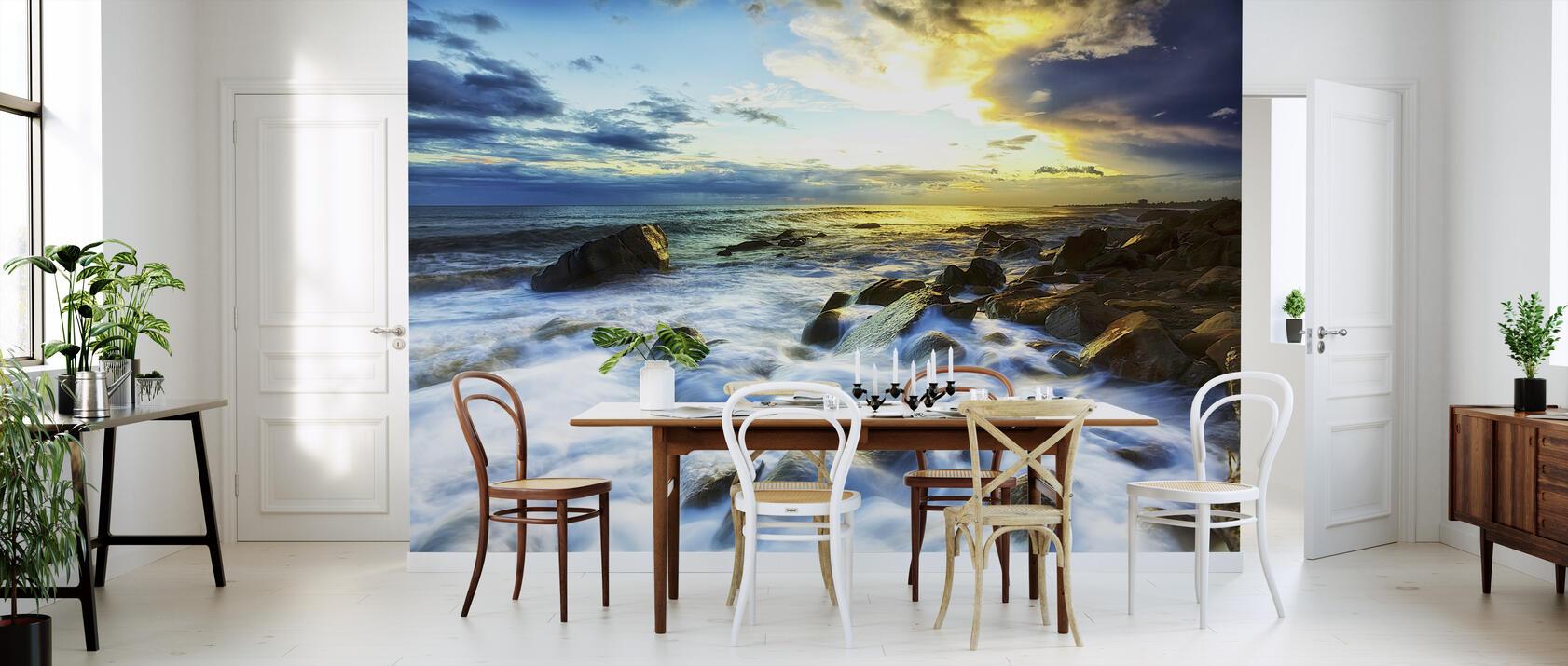 waves crashing fototapete nach ma photowall. Black Bedroom Furniture Sets. Home Design Ideas
