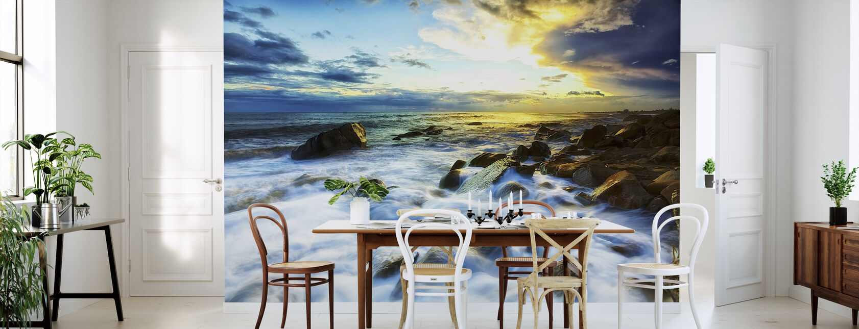 Bølger krasjer - Tapet - Kjøkken