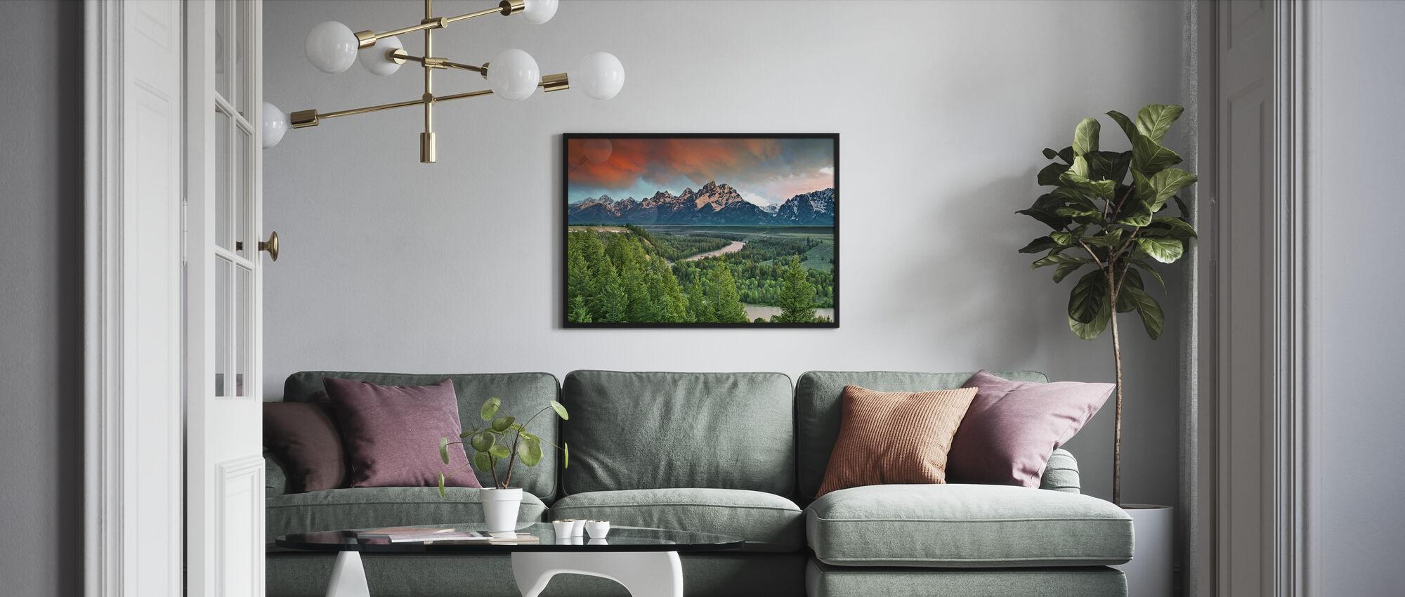 Snake River - Framed print - Living Room