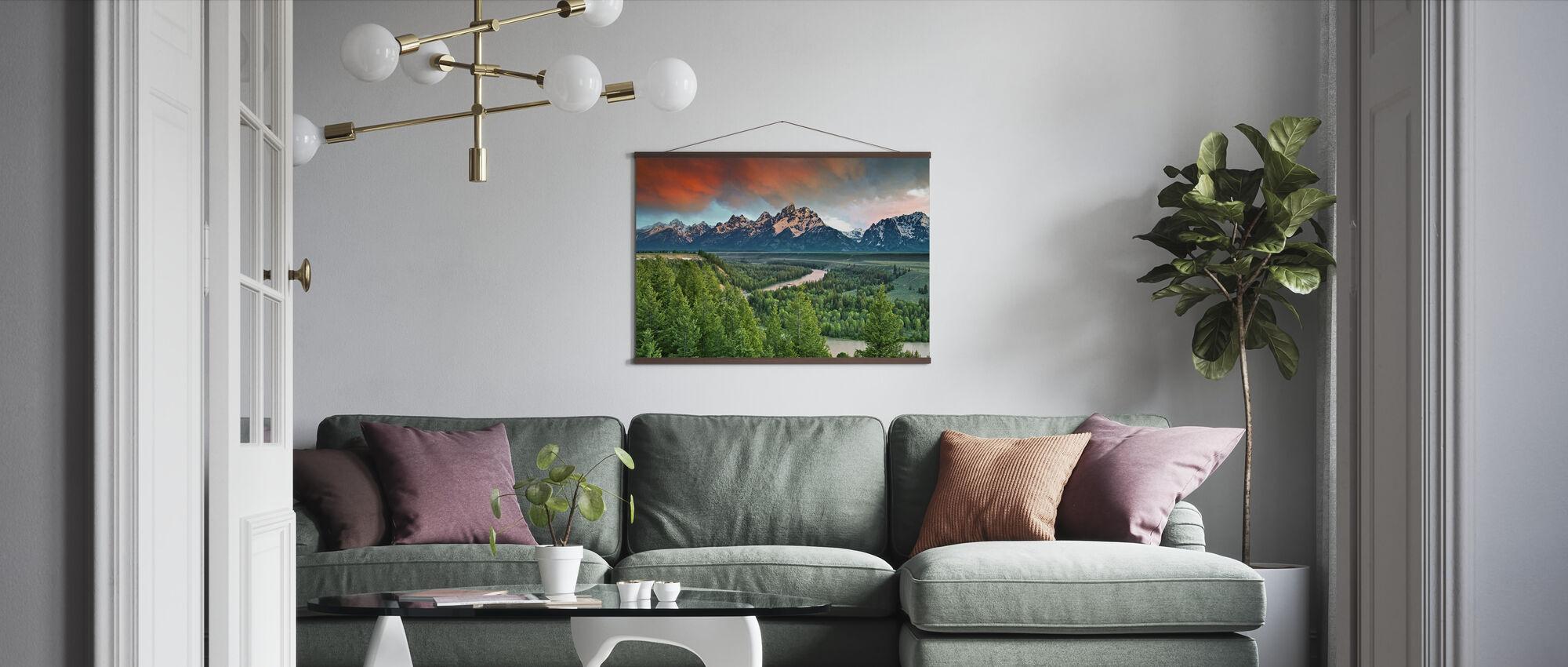 Snake River - Poster - Living Room
