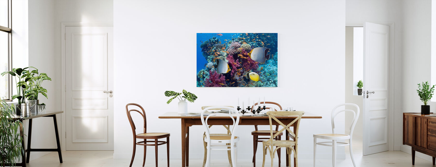 Butterfly Fish - Canvas print - Kitchen