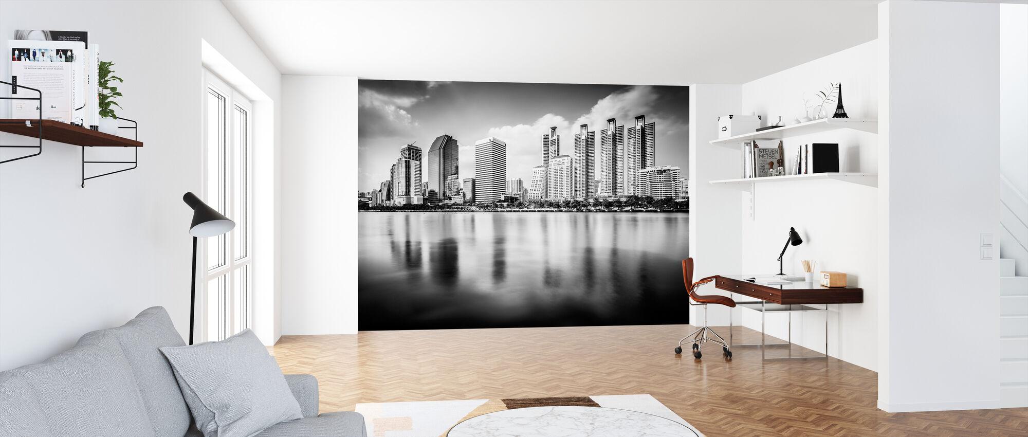 Bangkok Skyline - Tapet - Kontor