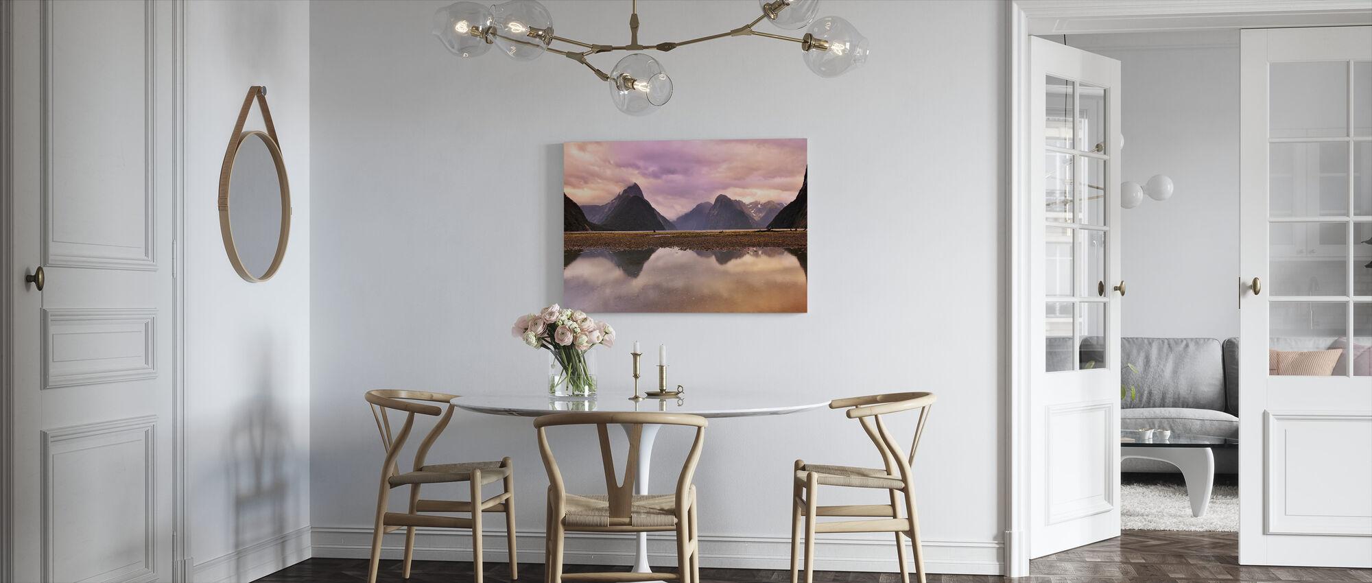 Hazy Reflections - Canvas print - Kitchen