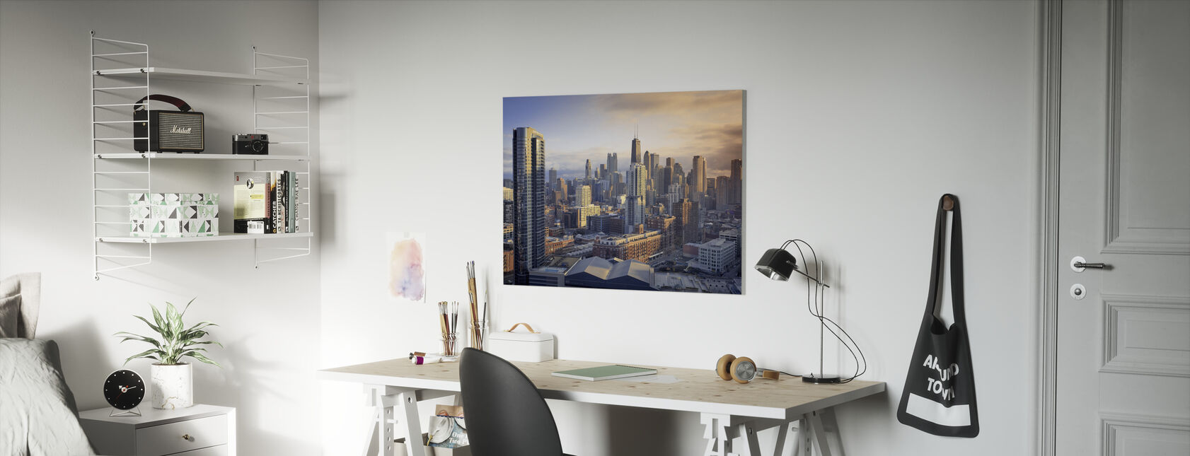 Chicago Symfonie - Canvas print - Kinderkamer