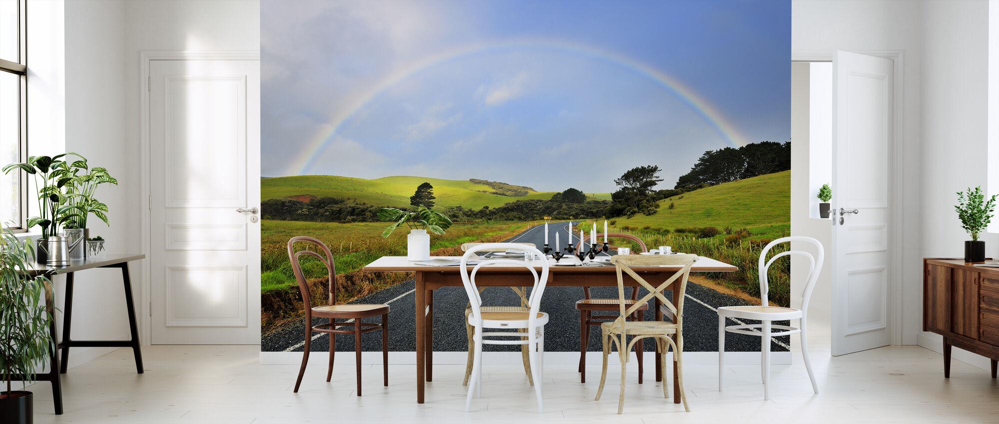 Rainbow Road - Wallpaper - Kitchen