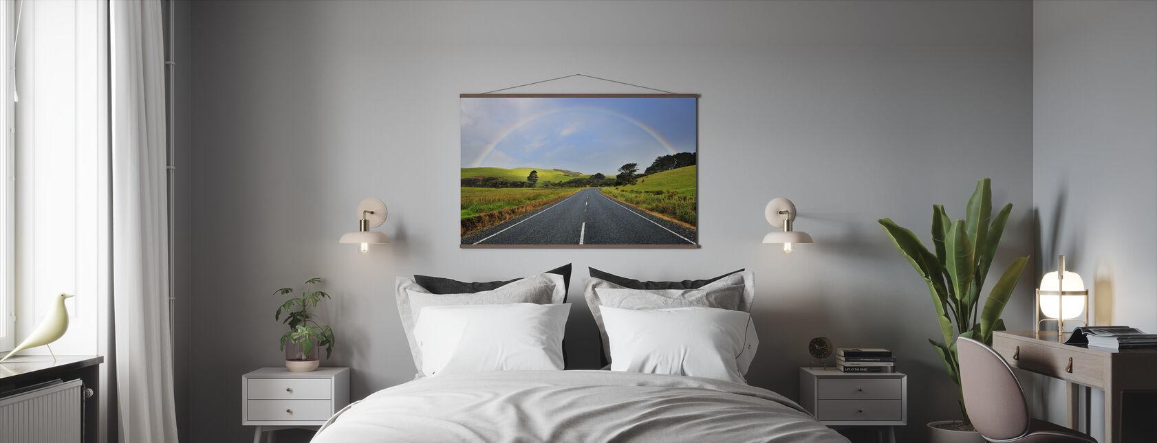 Rainbow Road - Poster - Bedroom