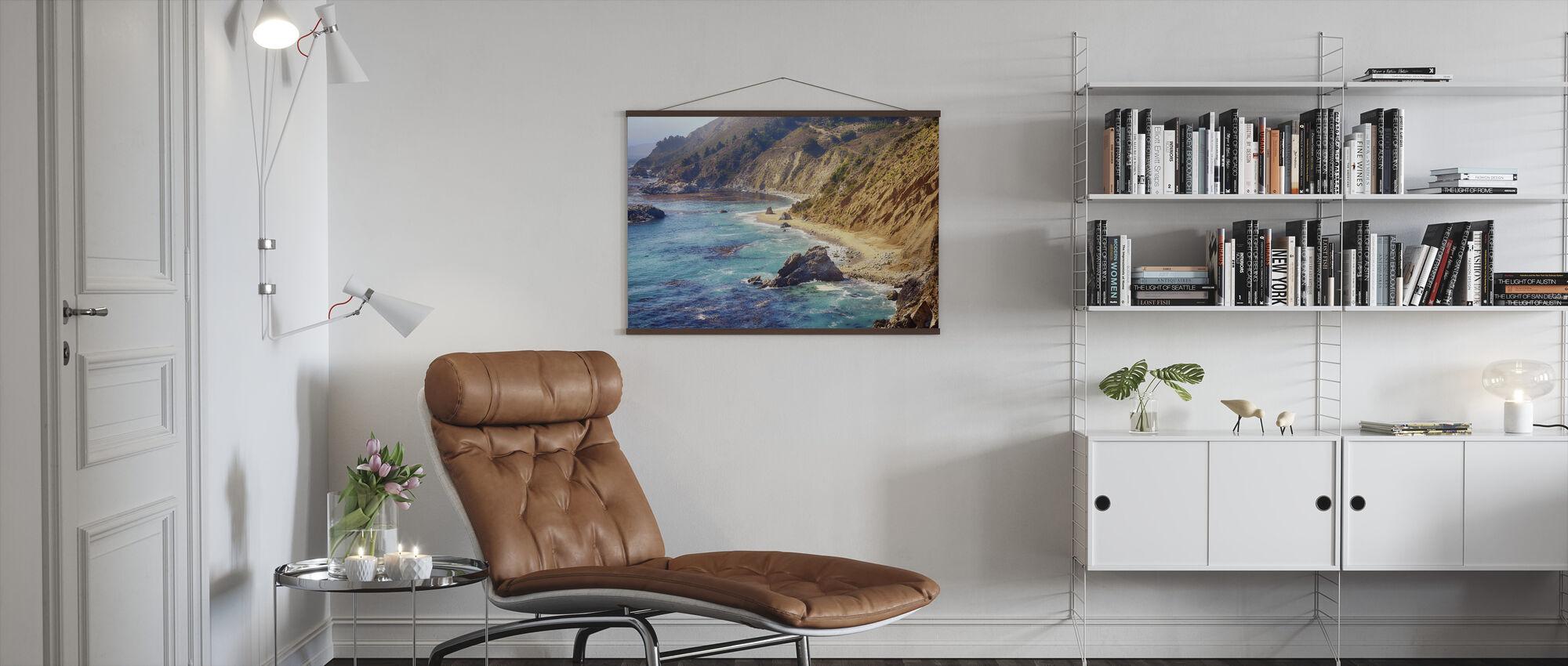 Steile Cliffs - Poster - Woonkamer