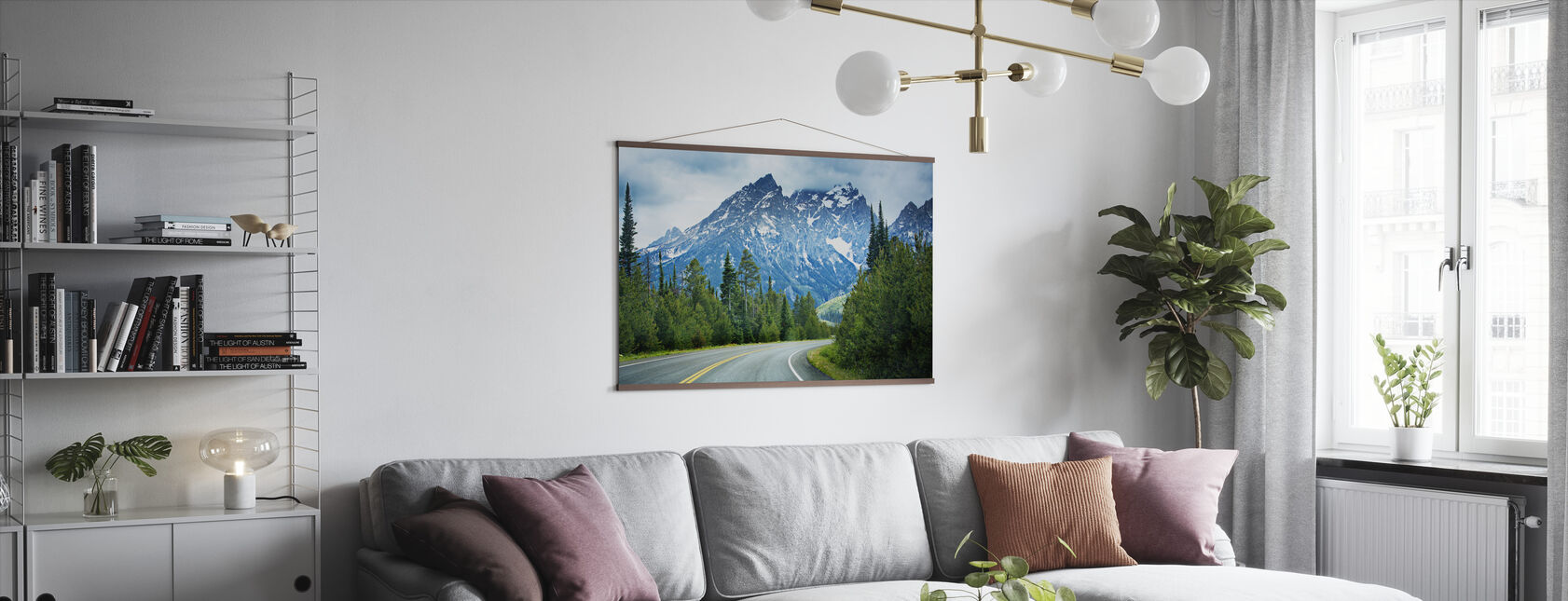 Sharp Bend - Poster - Living Room
