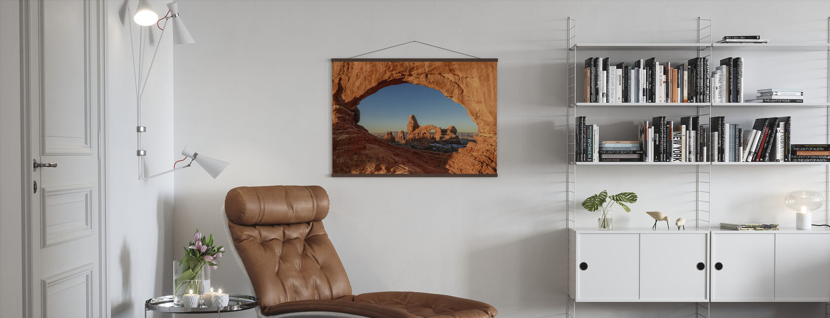 Natural Window - Poster - Living Room