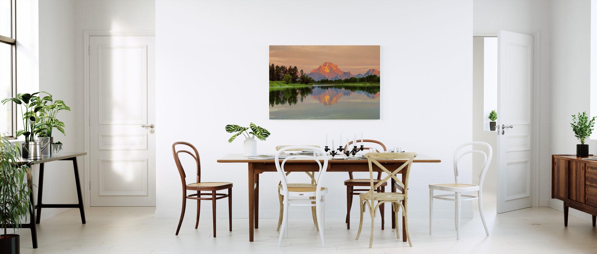 Grand Teton Sunrise - Canvas print - Kitchen