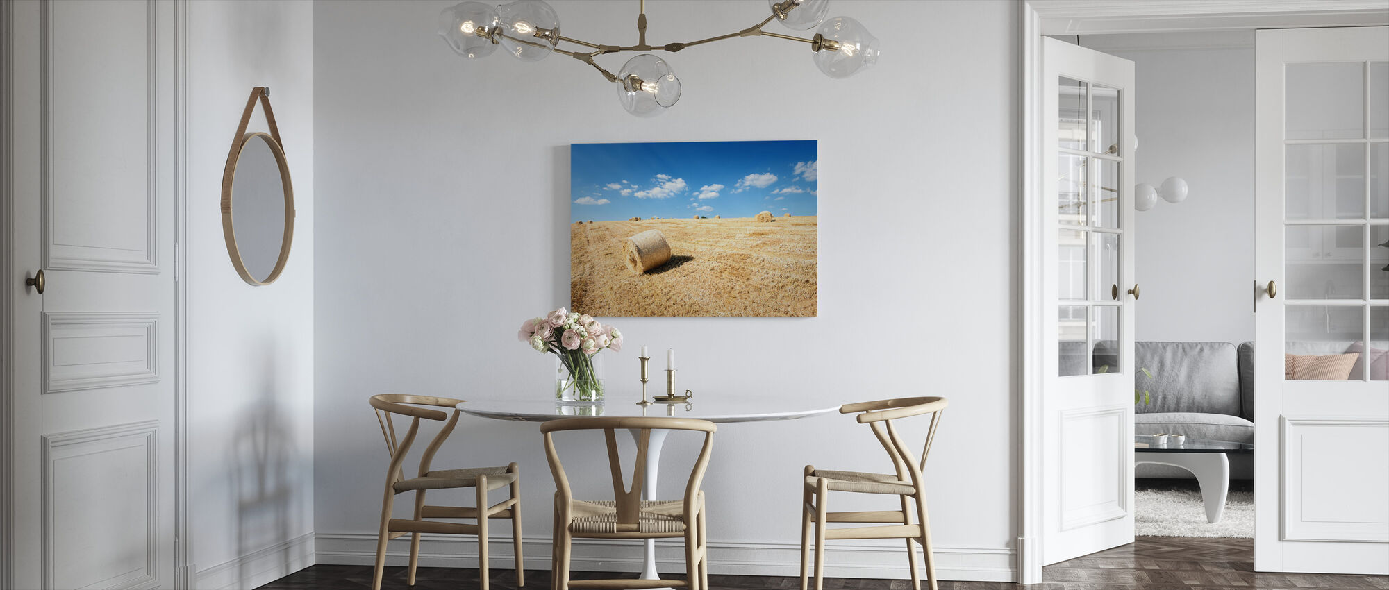 Almost Finished for Another Year - Canvas print - Kitchen