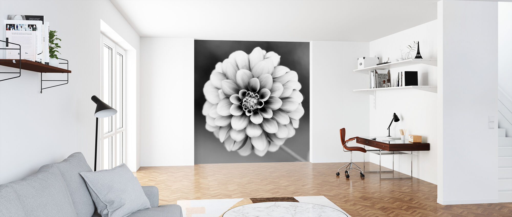 Dahlia - Wallpaper - Office