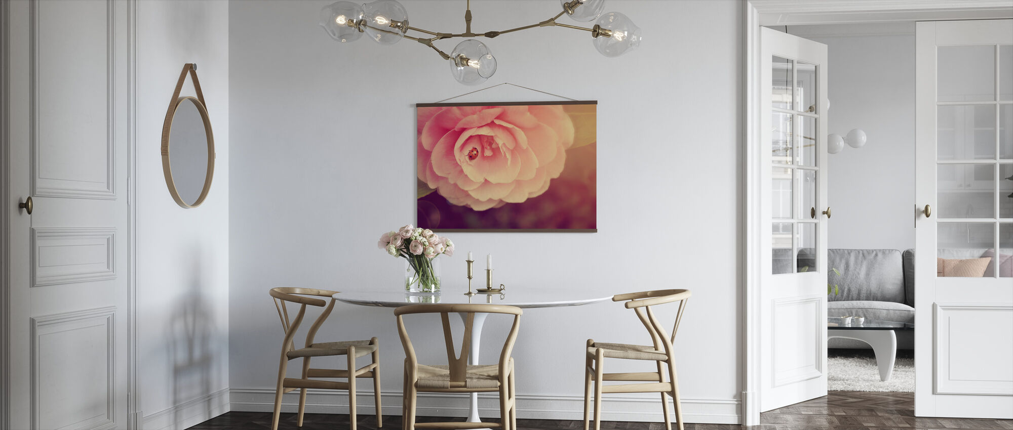 Ladybird on Camellia - Poster - Kitchen