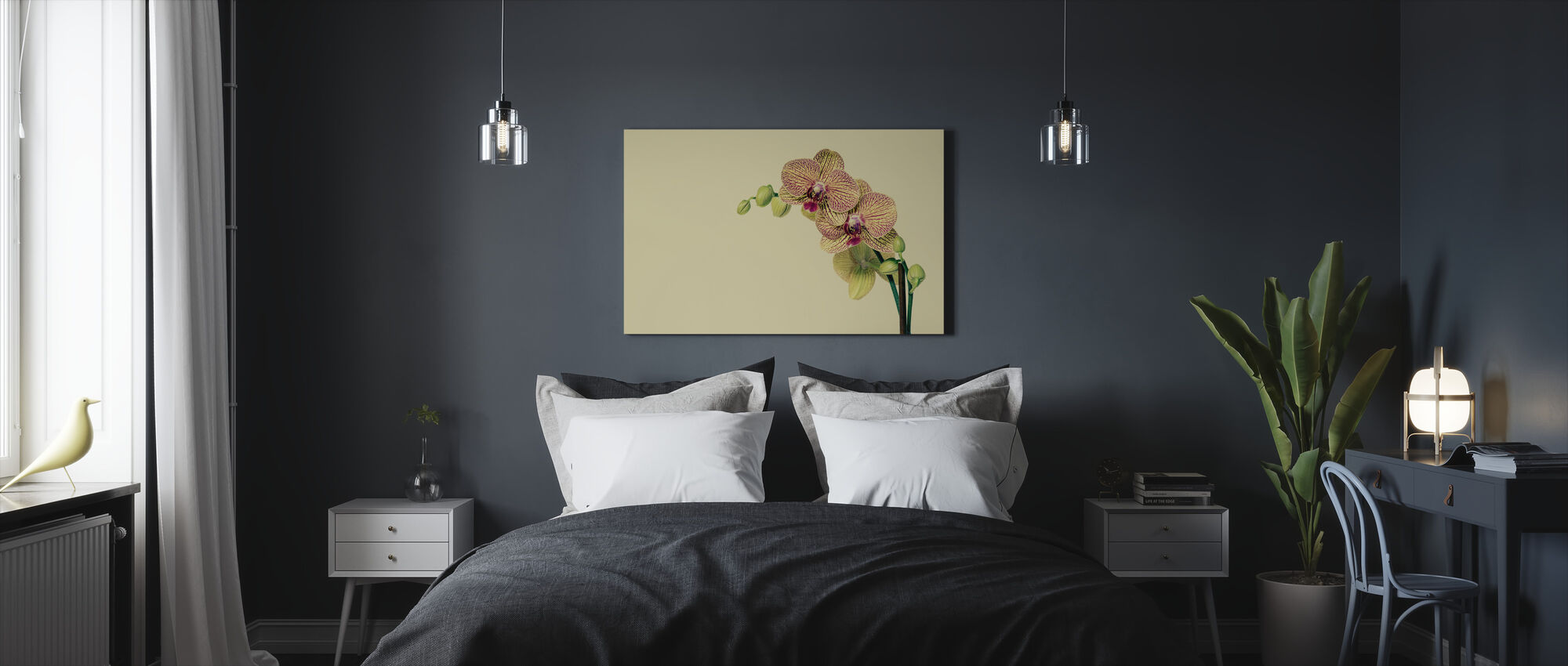 Pale Orchid - Canvas print - Bedroom
