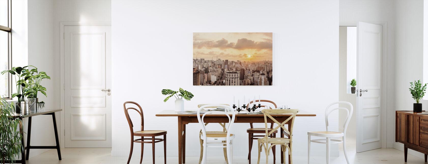 Sao Paulo Sunset - Canvas print - Kitchen