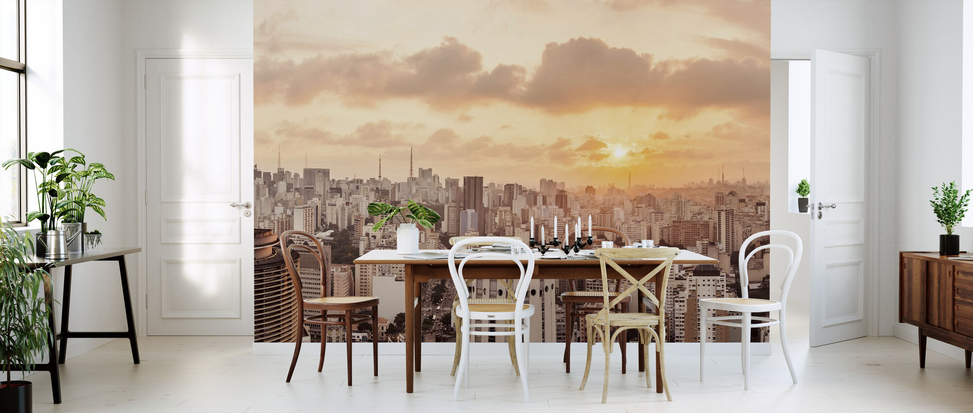 Sao Paulo Sunset - Wallpaper - Kitchen