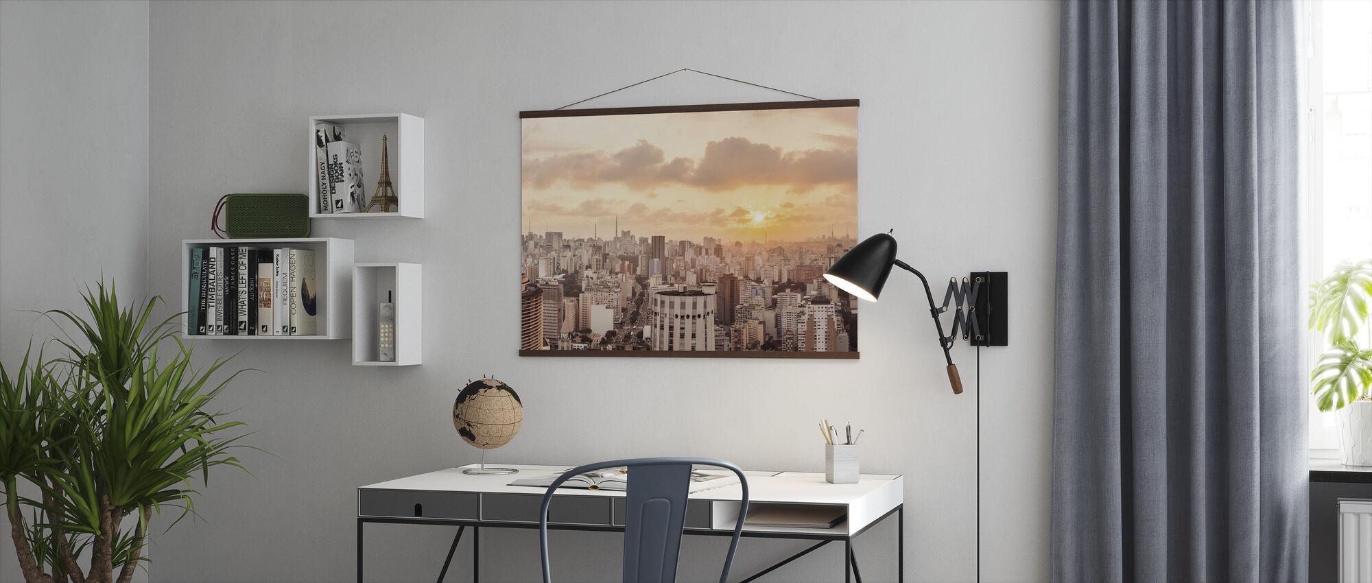 Sao Paulo Sunset - Plakat - Kontor