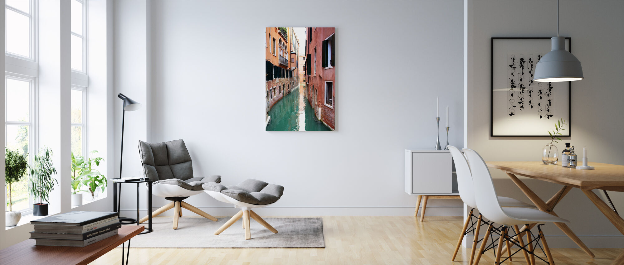 Tranquility in Venice - Canvas print - Living Room