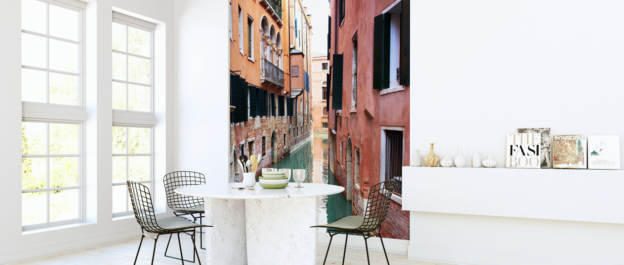 Tranquility in Venice - Wallpaper - Kitchen