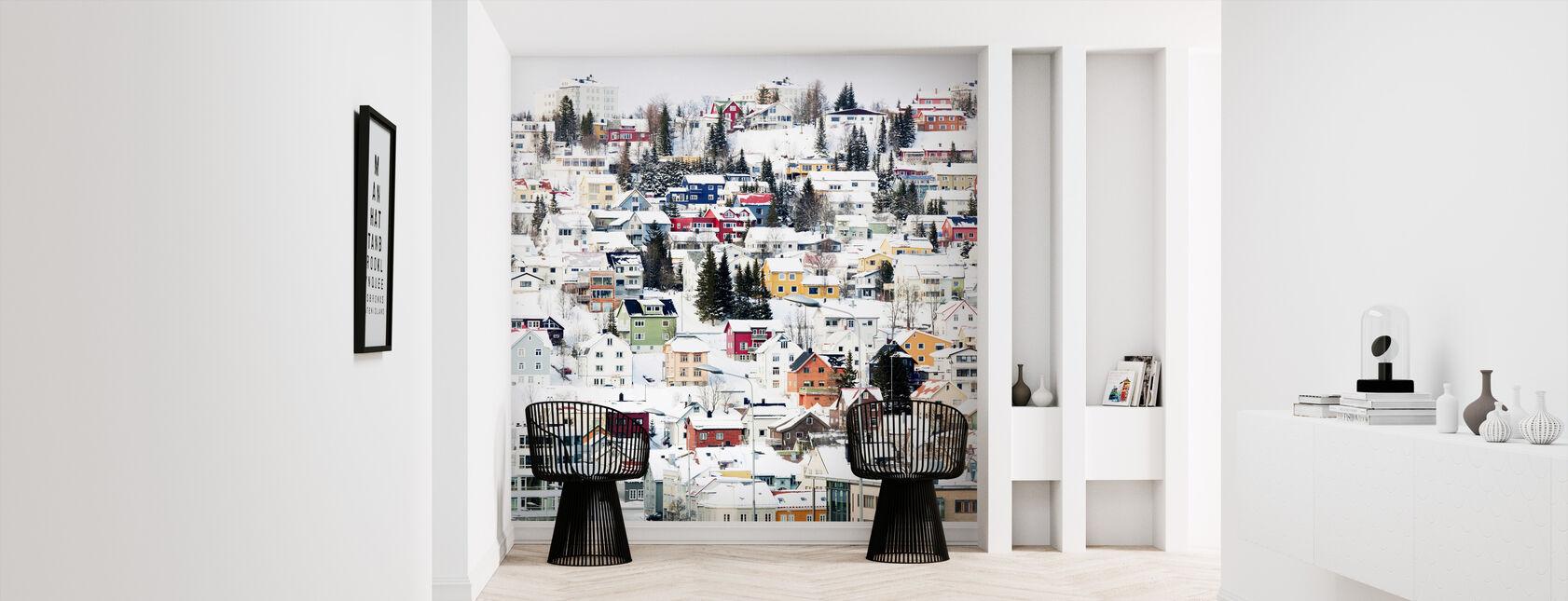 Norwegian Wood - Wallpaper - Hallway
