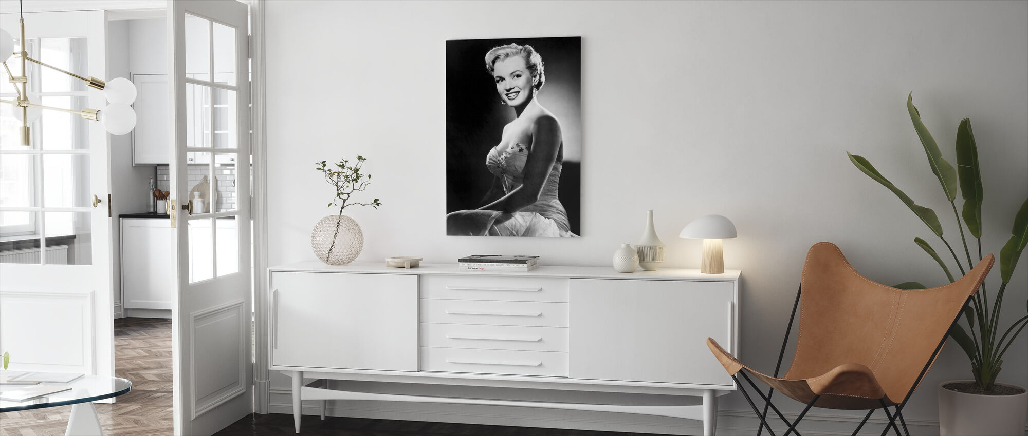 All about Eve - Canvas print - Living Room