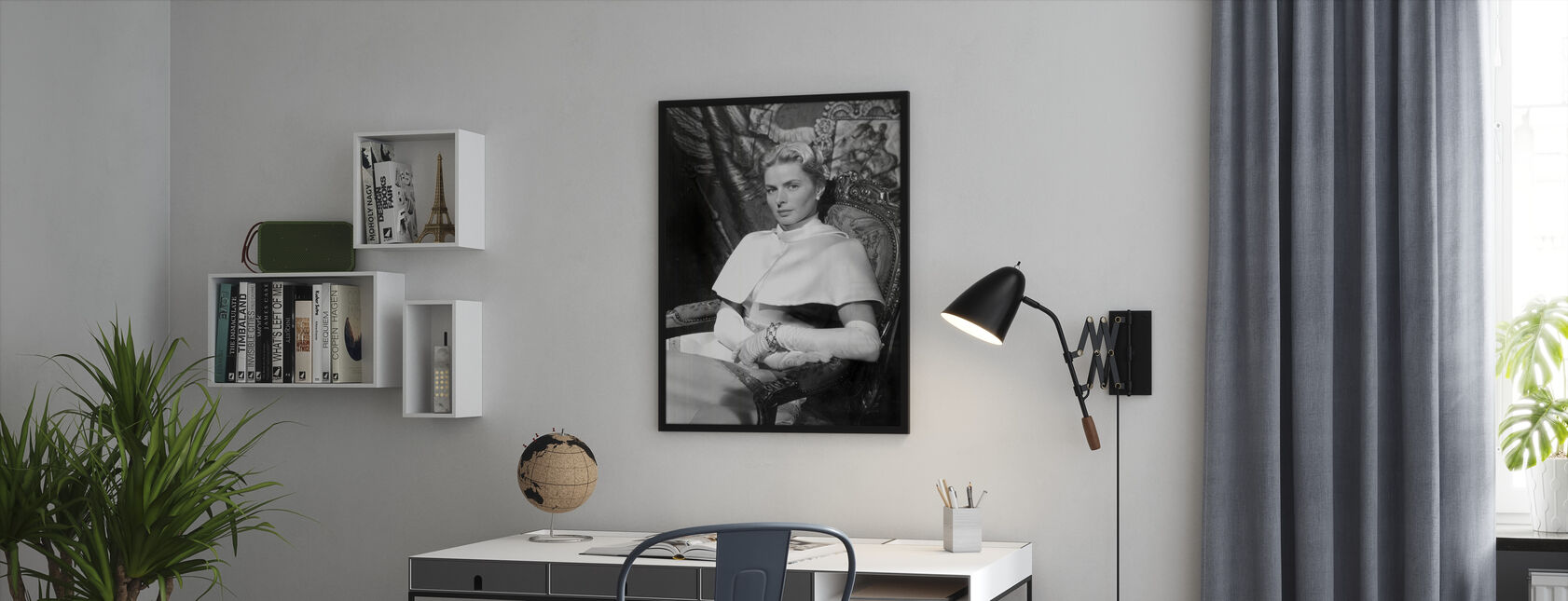Anastasia 1986 - Framed print - Office