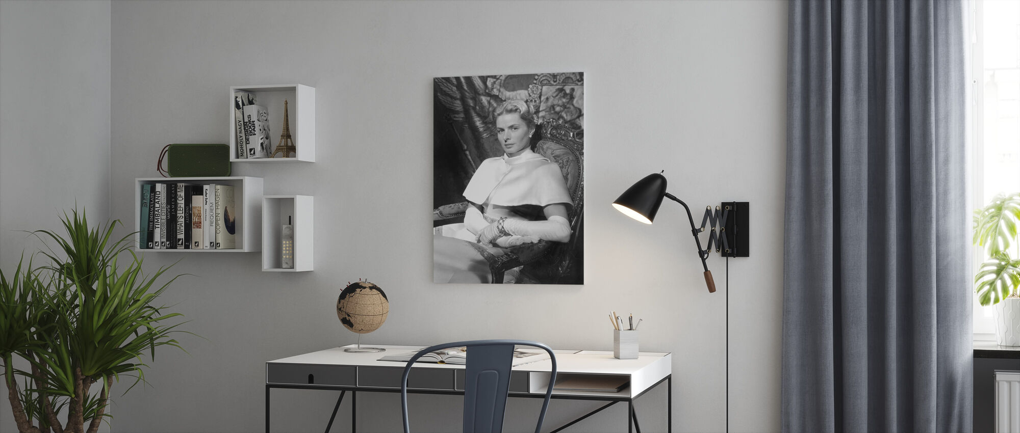 Anastasia 1986 - Canvas print - Kantoor